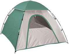 Generic Adventure Backpackers Dome Tent Forest GreenTan 78 X 66 X 43Inch *** More info could be found at the image url.