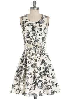 Brunch Over the Bluffs Dress | Mod Retro Vintage Dresses | ModCloth.com