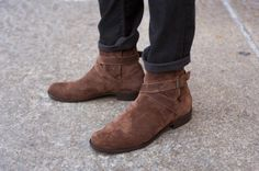 Johdhpur Boots by Modern Vice $400 Monochromatic: All About the Textures | TSBmen
