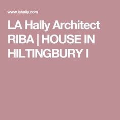 LA Hally Architect RIBA | HOUSE IN HILTINGBURY I Planning Applications, Architectural Services, Bungalows, Residential Architecture, Building Design, House, Home, Haus, Craftsman Bungalows