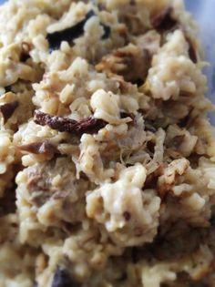 Una deliciosa receta de Risotto con boletus y alcachofas para #Mycook http://www.mycook.es/receta/risotto-con-boletus-y-alcachofas/