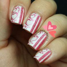 VALENTINE by lylynails #nail #nails #nailart