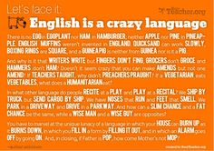 Funny pictures about English is a crazy language. Oh, and cool pics about English is a crazy language. Also, English is a crazy language photos. Teaching Phonics, Teaching Tools, Teaching Ideas, Teaching Reading, Teaching Humor, Teaching Literature, Jolly Phonics, Teaching Style, Teaching Strategies