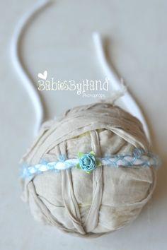 adorable baby tieback headband