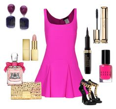 p!nk !!! by pinkcrema on Polyvore featuring polyvore, fashion, style, Dsquared2, Giuseppe Zanotti, Michael Kors, Miadora, Guerlain, AERIN, Juicy Couture and Bobbi Brown Cosmetics