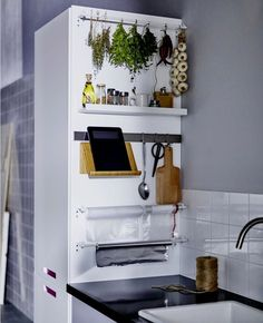A Clever Storage Idea for Small Kitchens | Apartment Therapy