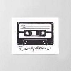 Printable Song Request Cards van HelloPaperCoStore op Etsy