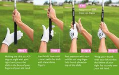 A step 1-2-3-4 to an awesome grip.