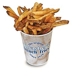Thrasher's French Fries in Ocean City, Maryland, serves fries and only fries.