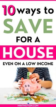 How to save money for a house fast. Follow these easy tips to help you save up for a down payment on a home. House to save money for a house in a year or 6 months. Yes, it's possible to save for a house even on a low income. Life On A Budget, Debt Free Living, Paying Off Student Loans, Down Payment, Create A Budget, Frugal Living Tips, Love Your Life, Ways To Save, 6 Months