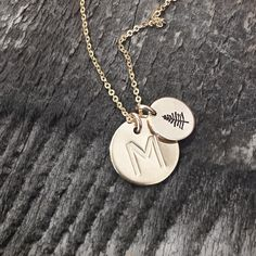 Made by Mary gold disk necklaces