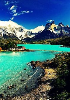 I am so obsessed over patagonia. I would love to go over there some day- Laguna Peohe ~ Patagonia, Chile