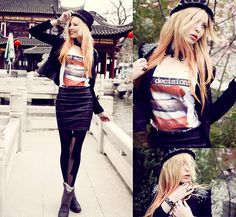 Bad decisions make good stories (by Lina Tesch) http://lookbook.nu/look/3268831-bad-decisions-make-good-stories