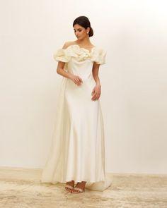 Elegant Modern Silk Wedding Dresses for 2022 Brides – Zoe Rowyn Bridal – Bridal Musings 23