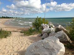 Oscoda Beach (Lake Huron): Oscoda, MI 8/11/13