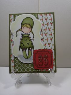December 25th Christmas Card by TheCraftieOne on Etsy, $5.50
