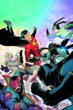 """NEW SUPER MAN #4MADE IN CHINA"""" la cuarta parte!  Es la Liga de la Justicia de China, frente a los combatientes de la libertad chino!  A medida que el nuevo super-hombre pone a prueba su poder contra el equipo del dragón de vuelo general, una nueva revelación impactante dejará de nuestro joven héroe muertos en sus pistas.  Y confían en nosotros, no vas a creer lo que descubre Kenan Kong!  Todo esto, última arma más los combatientes de la libertad china 'llega, y que va a ser la estrella de la…"""