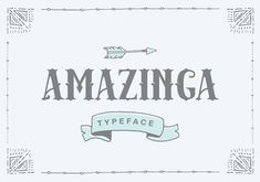 Amazinga Typeface By IanMikraz | Free Font of the Week  #DisplaySerif #Serif #VictorianStyle #FreeFontOfTheWeek #Freebie #Victorian #Amazinga #Typeface #OTF #TTF #SVG #EOT #WOFF#WOFF2 #TimeLimited #LimitedTime #Free
