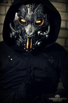 The Apparitionist light up cyberpunk mask by TwoHornsUnited on DeviantArt