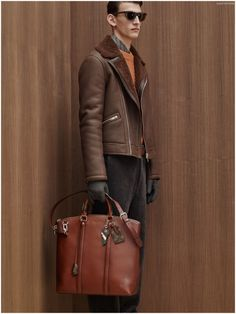 #LouisVuitton Pre-Fall 2015 Menswear Collection Updates Basics