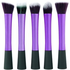 Also really want to try this 5 PIECE PURPLE BRUSH SET Professional Make up Makeup Brushes Set Foundation Blusher Kabuki Style Kit Tool | eBay