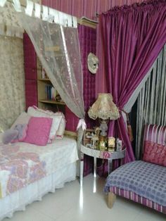 Pink dream rooms for girls