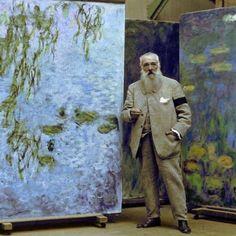 Claude Monet, c.1923