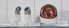 Neil Armstrong's Apollo 11 spacesuit NOW ON DISPLAY.