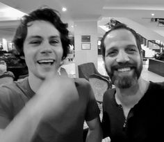 """""""Last day of shooting with this guy, Dylan O'Brien."""" – yousefsweid via Instagram. (co-worker from American Assassin)"""