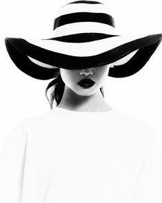 The white stripes by Lelya Martian, via Behance Black And White Portraits, Black White Photos, Black N White, Black And White Photography, High Key Photography, Portrait Photography, Fashion Photography, Mode Poster, The White Stripes