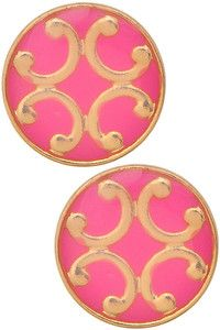 $14 Tory like Earrings  Pretty Bright + Gold Studs! w/a Great Price!