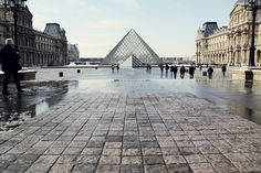The Louvre, Paris.