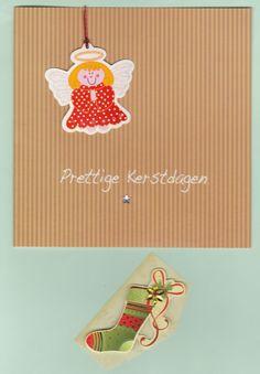 Sent to Malta: card and a little present (Mega Christmas Card Swap)