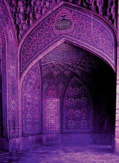Arabic #architecture #arch #purple