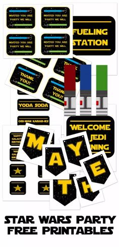 Star Wars Party Printables and Epic Ideas af4f36ebcab09