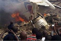 Lagos airplane crash: All 153 people onboard killed