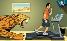 Why does treadmill running feel so deathly dull? Evolutionary psychology offers some answers. And we suggest some ways to make it more fun.