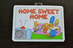 NOS The Simpsons Poster Simpsons Family Wall Hanging Plastic Mini Poster Bart Simpson Sign Home Sweet Home Many Styles Avail Deadstock Upcycled Vintage, Vintage Items, Family Video, Quality Lingerie, Ball Mason Jars, Family Wall, Poster Pictures, The Simpsons, Rectangle Shape