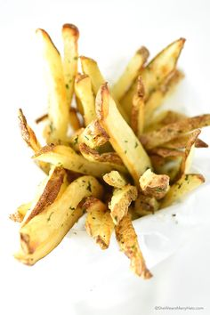 Homemade Baked Truffle Fries