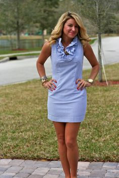 Seersucker Dress seersuckerandsweetgrass.wordpress.com