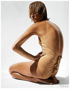 Amber Valletta Photographed by Steven Meisel 2003