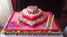 Cómo hacer una tarta de chuches | facilisimo.com