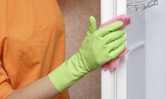 Cómo limpiar las gomas de la puerta de la nevera