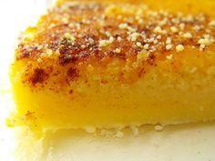 Queijada de leite e laranja | Sobremesas de Portugal