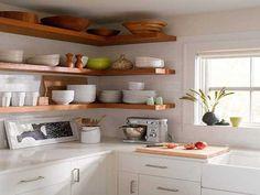 Optimiser et décorer les angles avec des étagères! 20 idées pour vous inspirer…