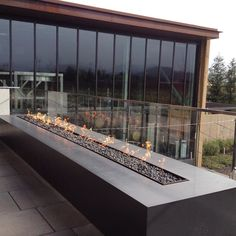 The fire pit at Hall Winery in St Helena #corkandbarrel #winecountry #hallwinery #winetasting by cork_and_barrel