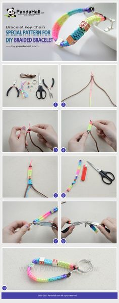 This bracelet key chain tutorial is going to show you a hands-on way about a special diy braided bracelet pattern.