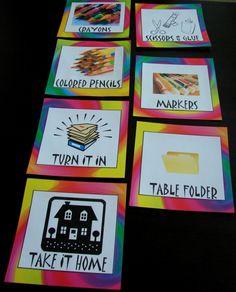 Art Room Organization (Art Bulletin Boards) - Printable Signs!