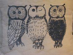 'Owls' by Linniekin