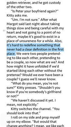 ... boyfriend-Kasie West Book Quotes Pinterest Book and The Ojays